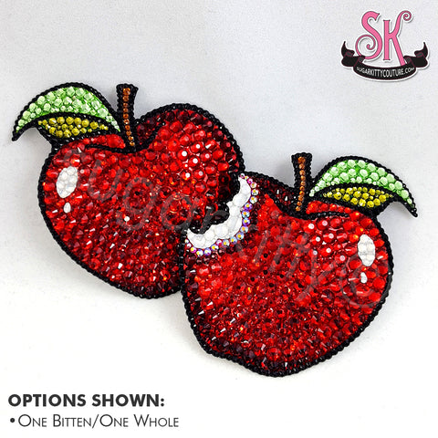 Apple Rhinestone Pasties - SugarKitty Couture
