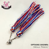 Glitter Metallic - Sequin Chainette Replacement Tassels - SugarKitty Couture