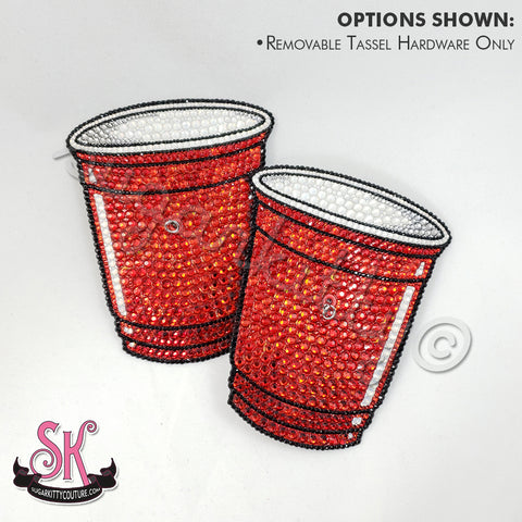 Solo Party Cup Rhinestone Pasties