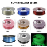 Glitter SQUARE Blank Pastie Bases