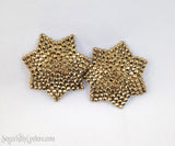 7 Point Star Shaped Rhinestone Pasties - SugarKitty Couture - 2