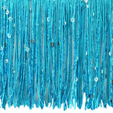 Glitter Metallic - Sequin Chainette Replacement Tassels