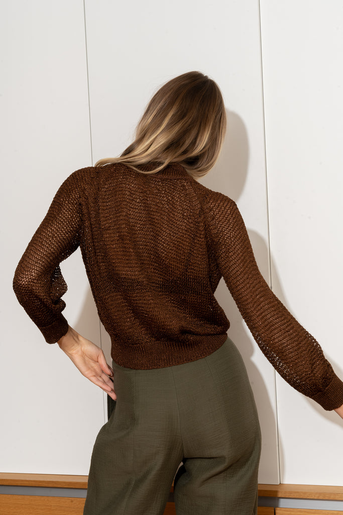 JONI Sweater in Chocolate