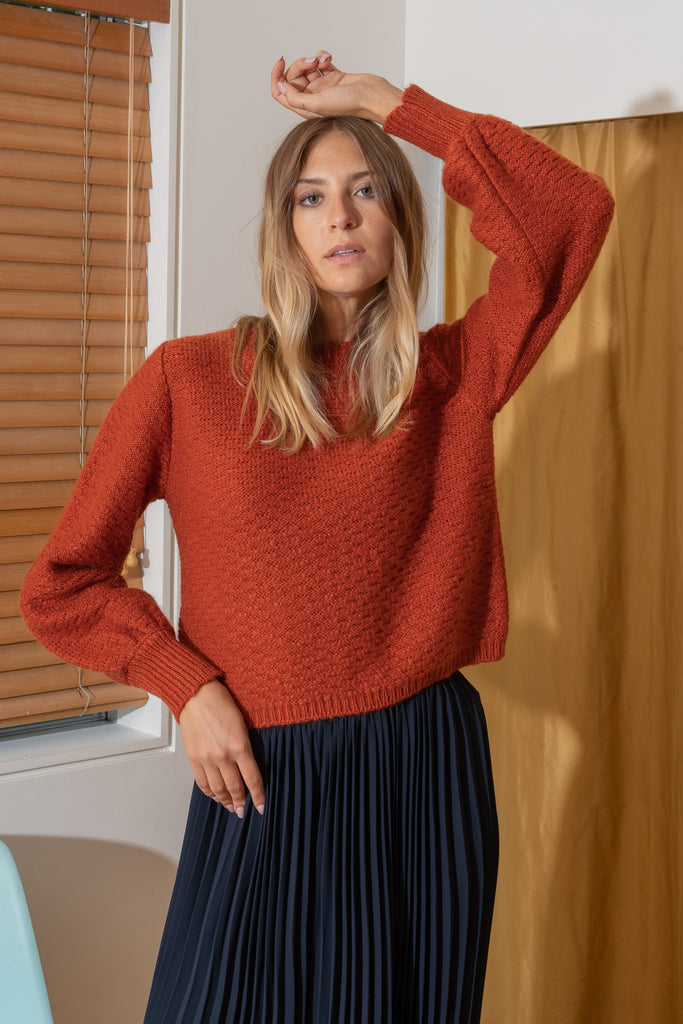 CAROLYN Sweater in Copper