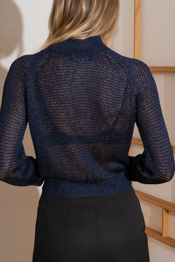JONI Sweater in Midnight Blue