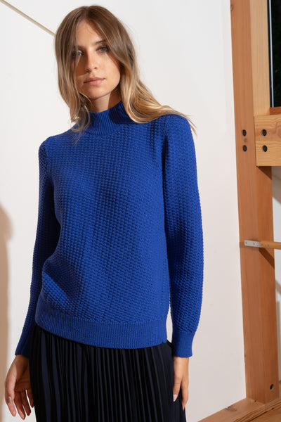 ANKA Sweater in Electric Blue