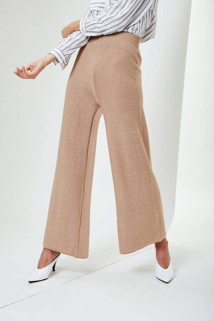 SOLANGE Pants in Oatmeal