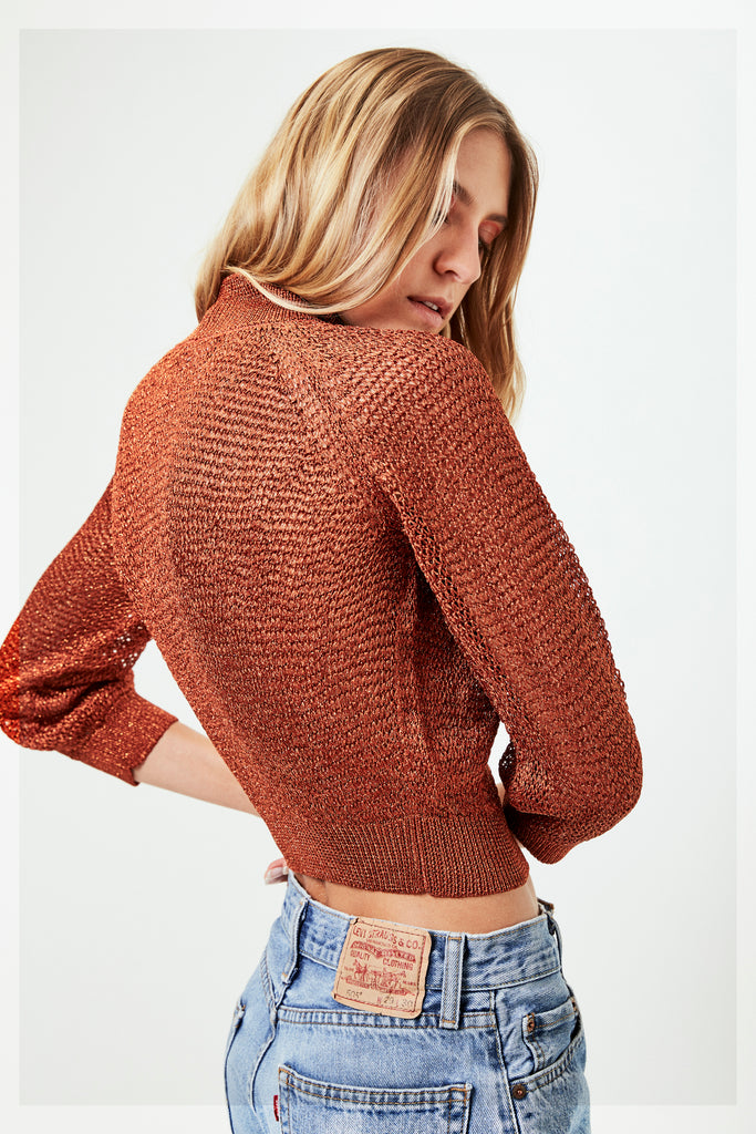 JONI Sweater in Copper