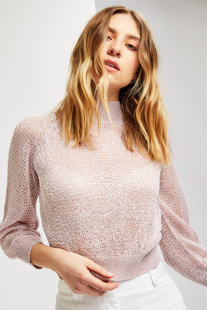 JONI Sweater in Pearl