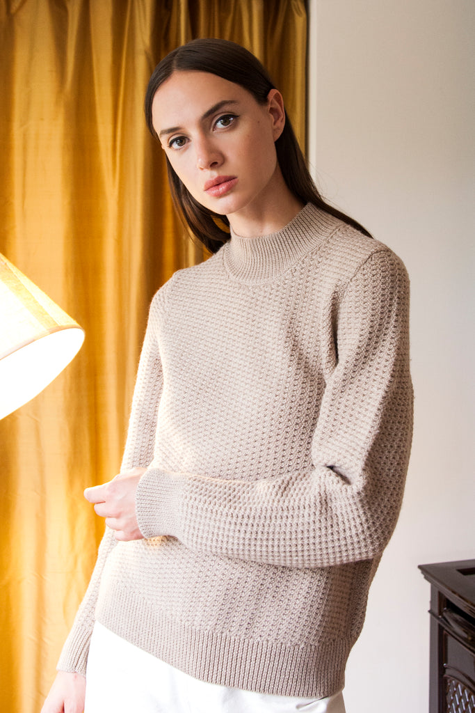 ANKA Sweater in Oatmeal
