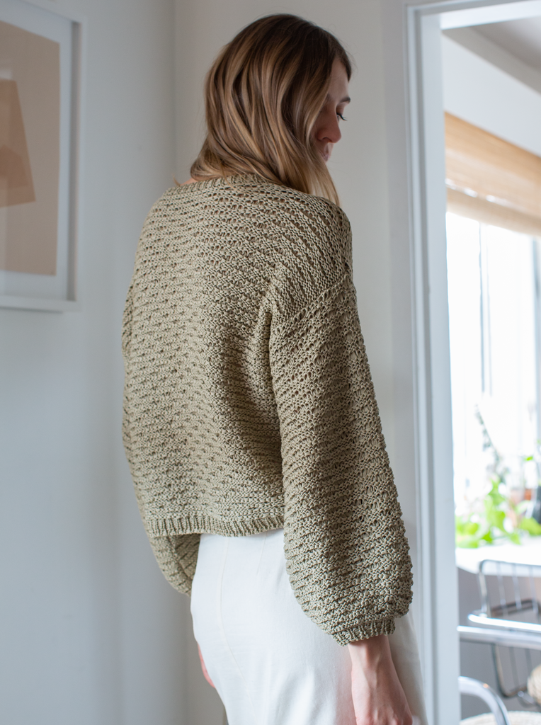 IVA Sweater in Tan