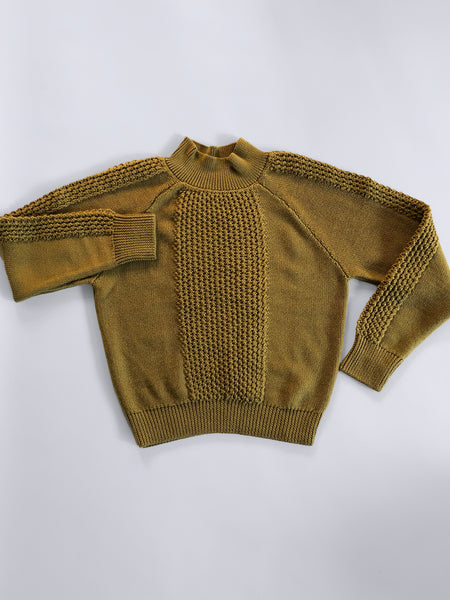 MONICA Sweater in Mustard - S