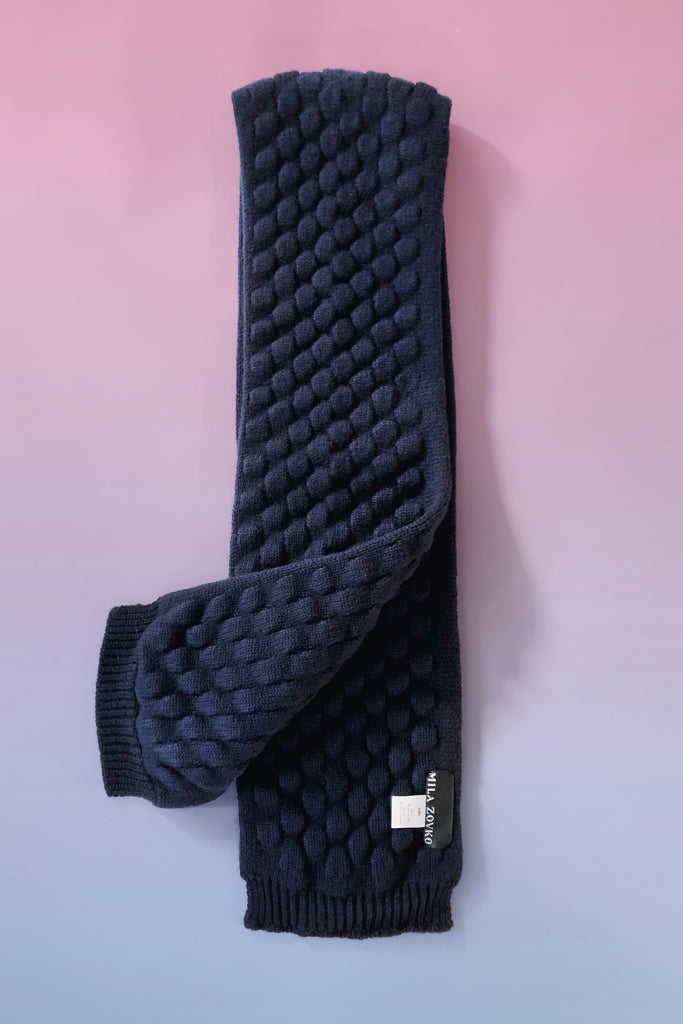 LUKA Scarf in Navy