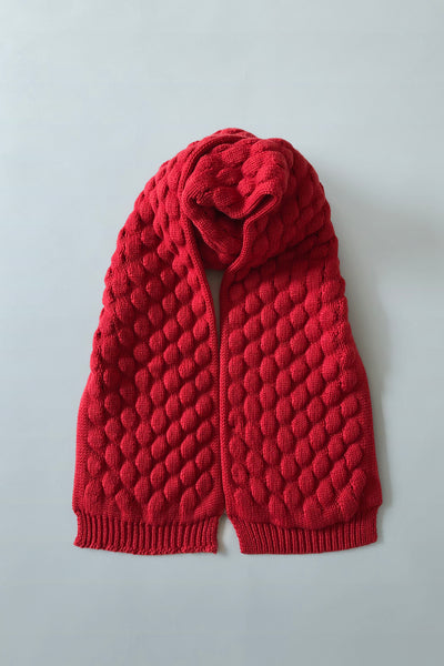 LUKA Scarf in Coral
