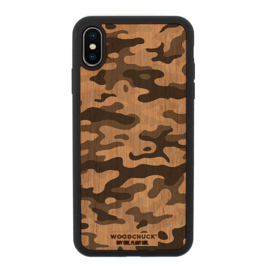 Woodlands Camo iPhone Case