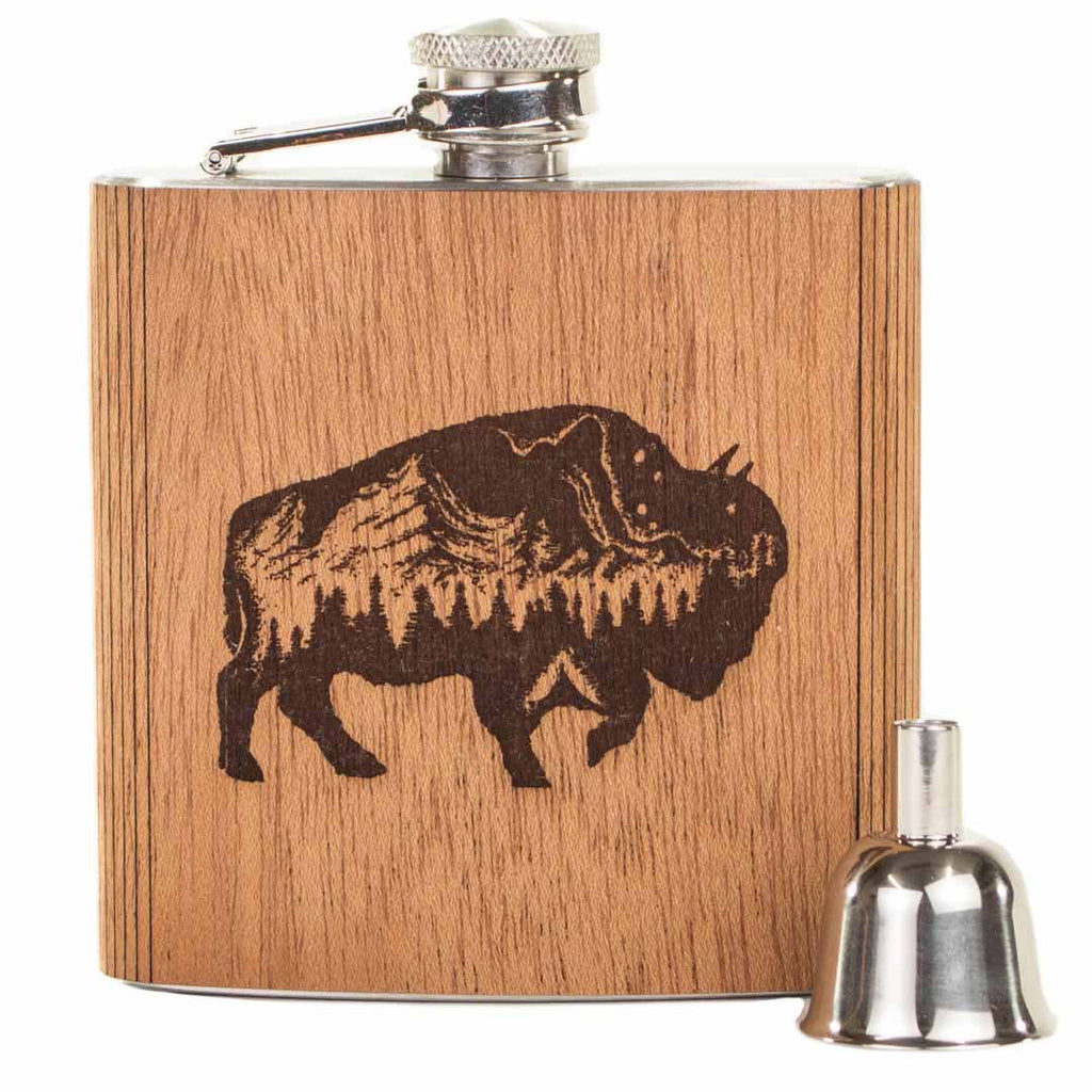 Buffalo 6 oz. Flask