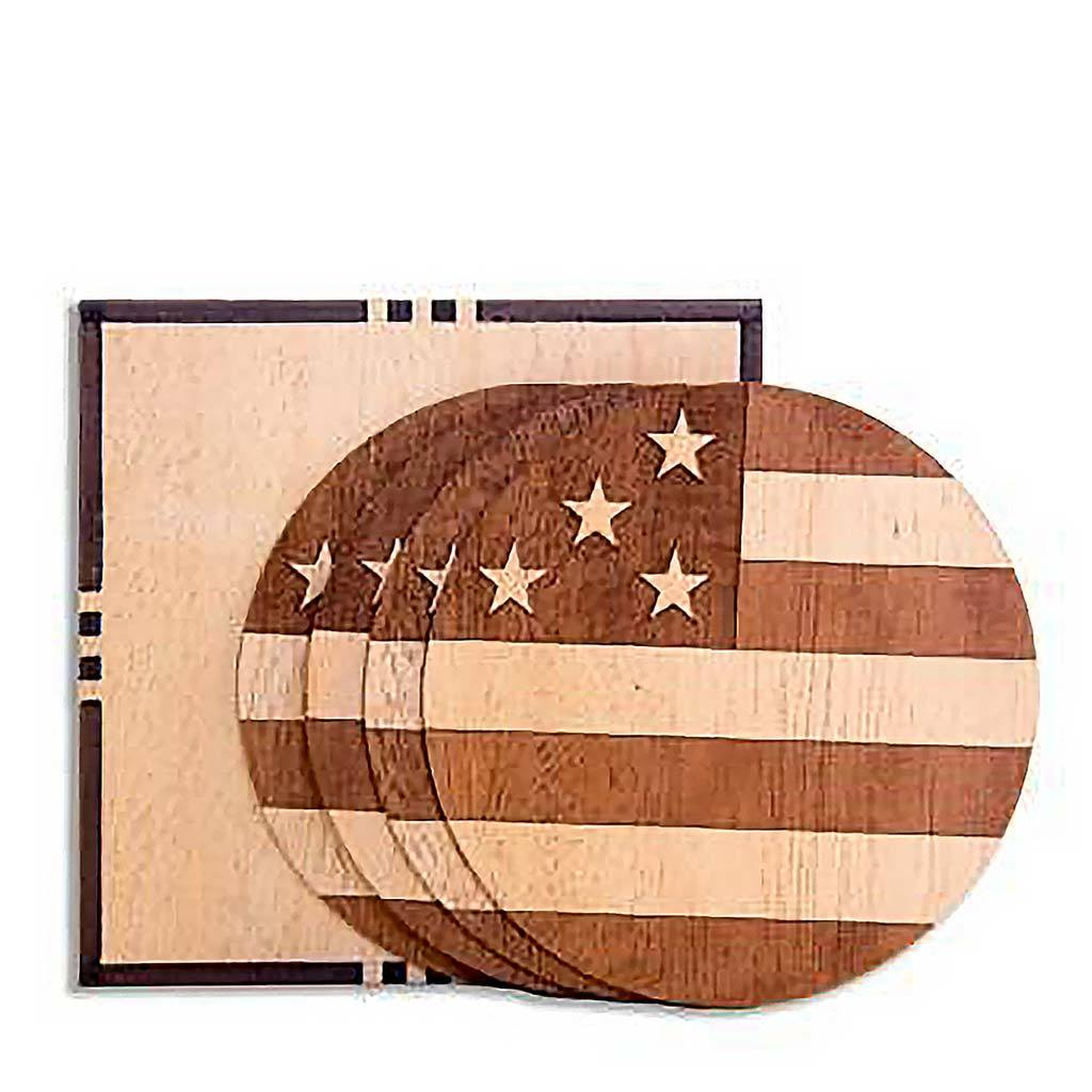 American Edition Wood Coasters - Woodchuck USA