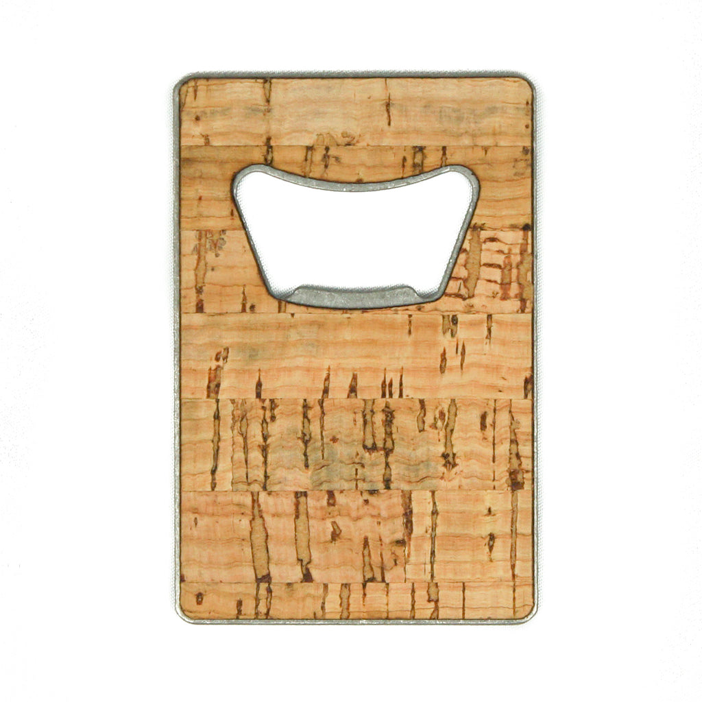Cork Credit Card Bottle Opener