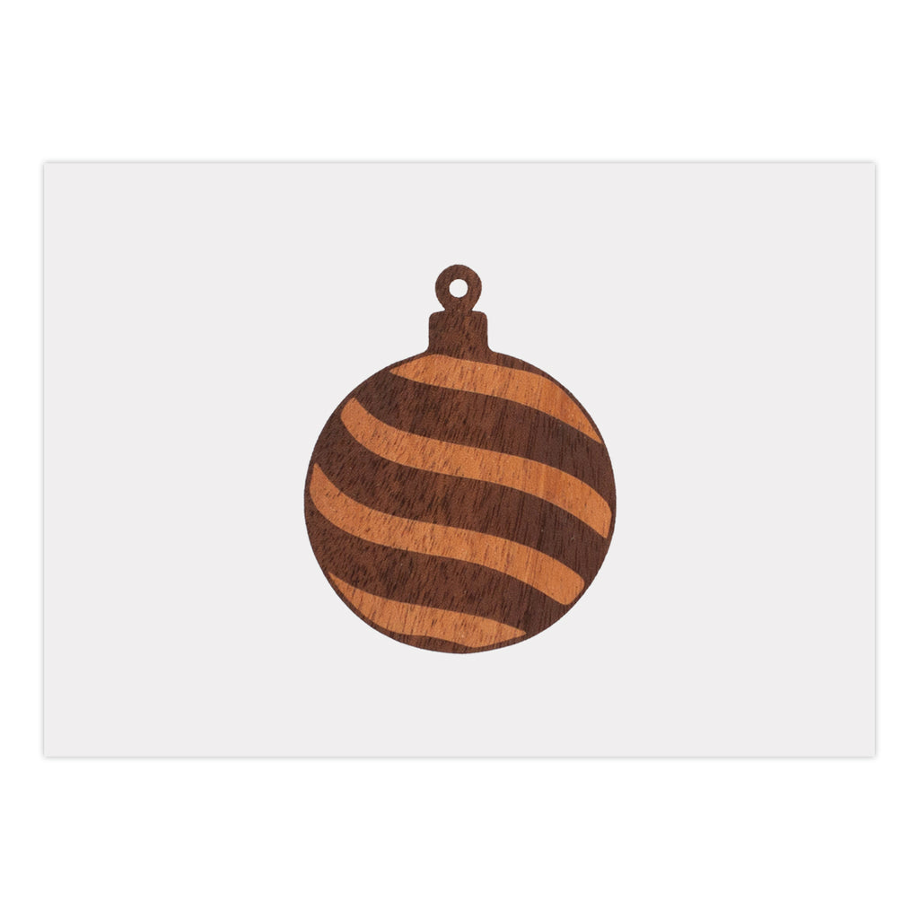 Ornament Holiday Card (25 Pack)