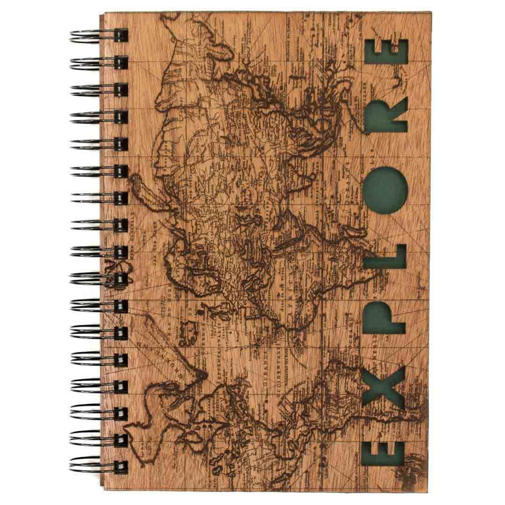 Explore Spiral Journal - Woodchuck USA