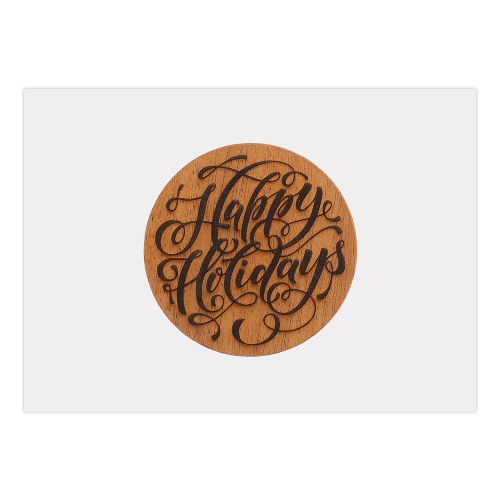 Happy Holidays Holiday Card (25 Pack)