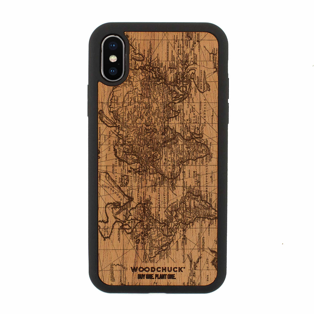 Explore Real Wood iPhone Case