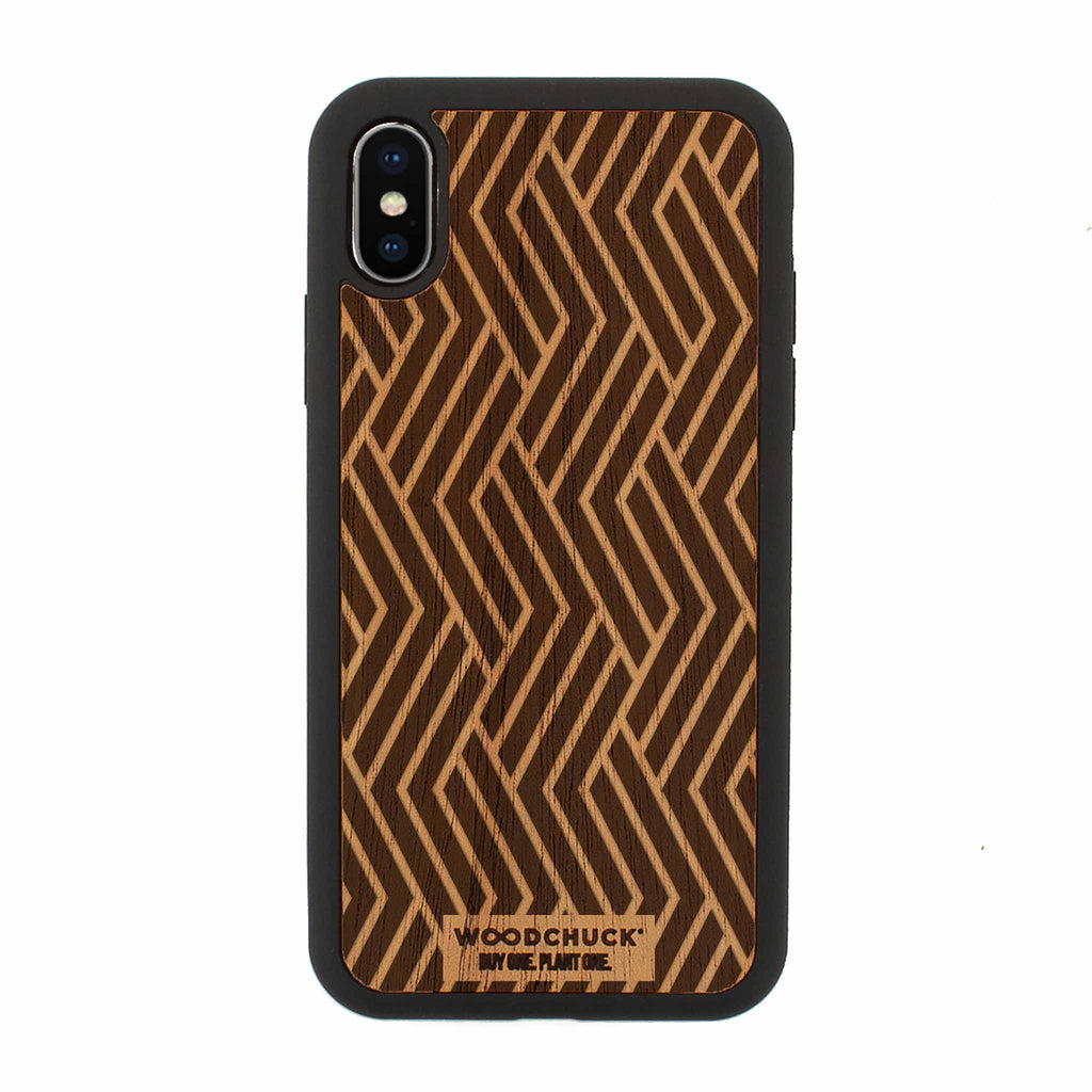 Hiawatha Real Wood iPhone Case