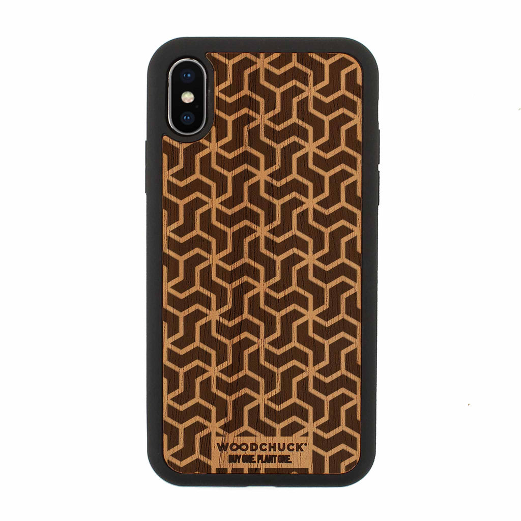 North Star Real Wood iPhone Case