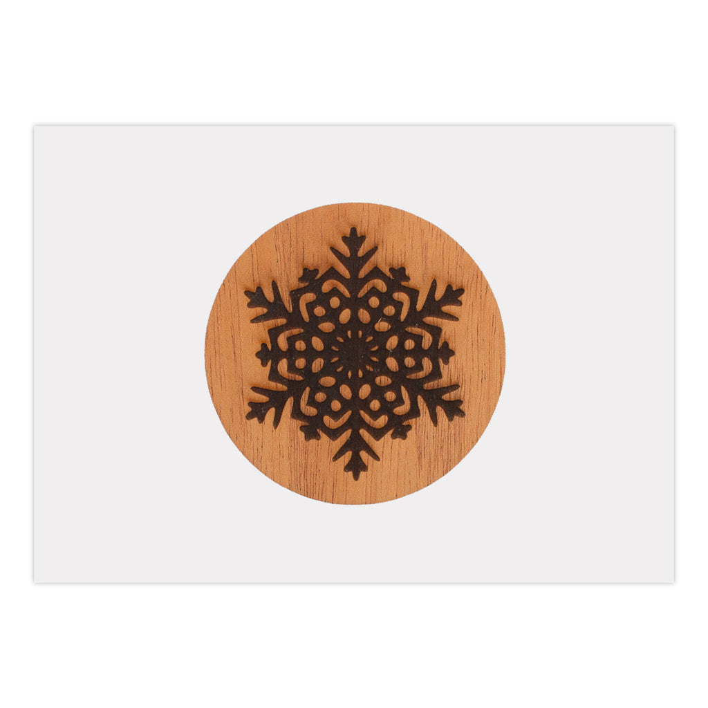 Snowflake Holiday Card (25 Pack)