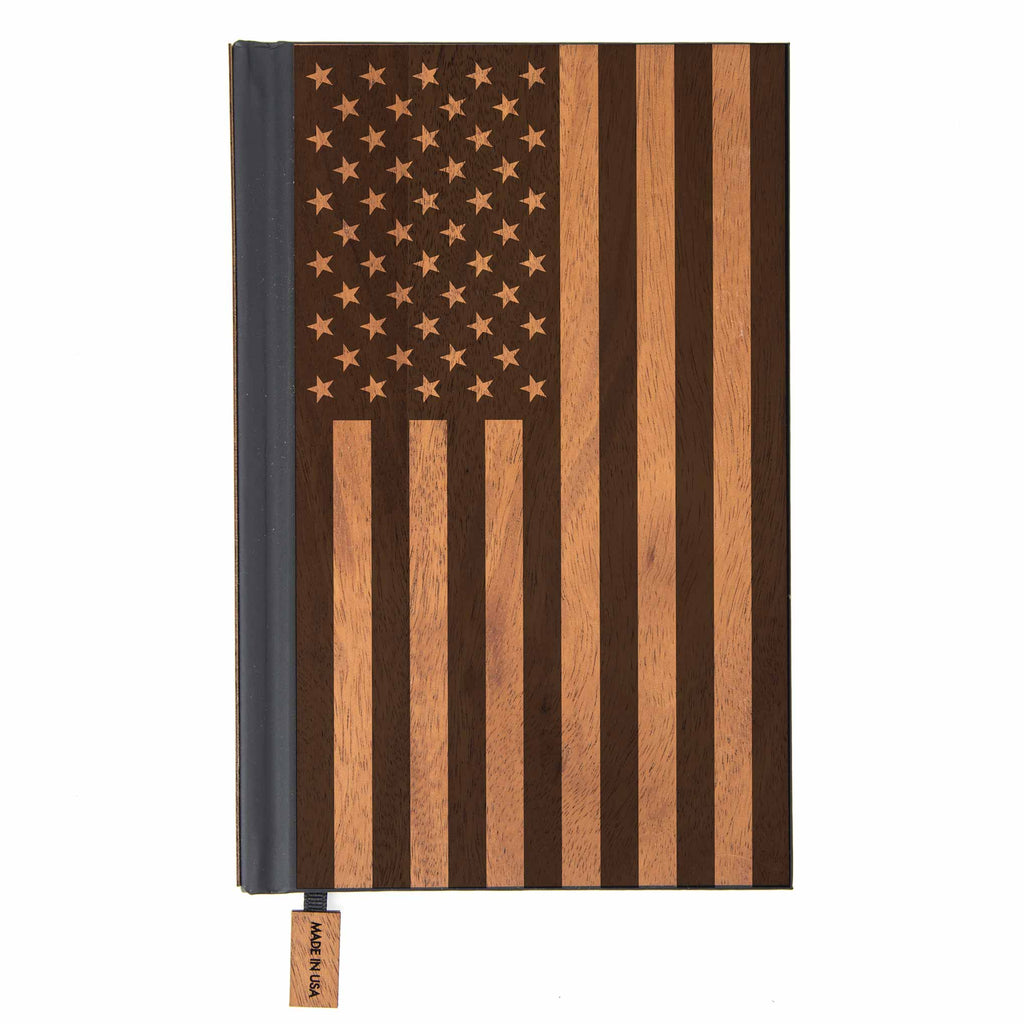 American Edition Classic Wood Journal