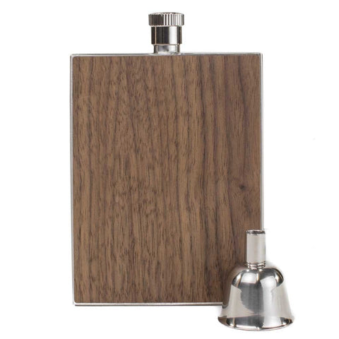 Wood Flask 3 oz.