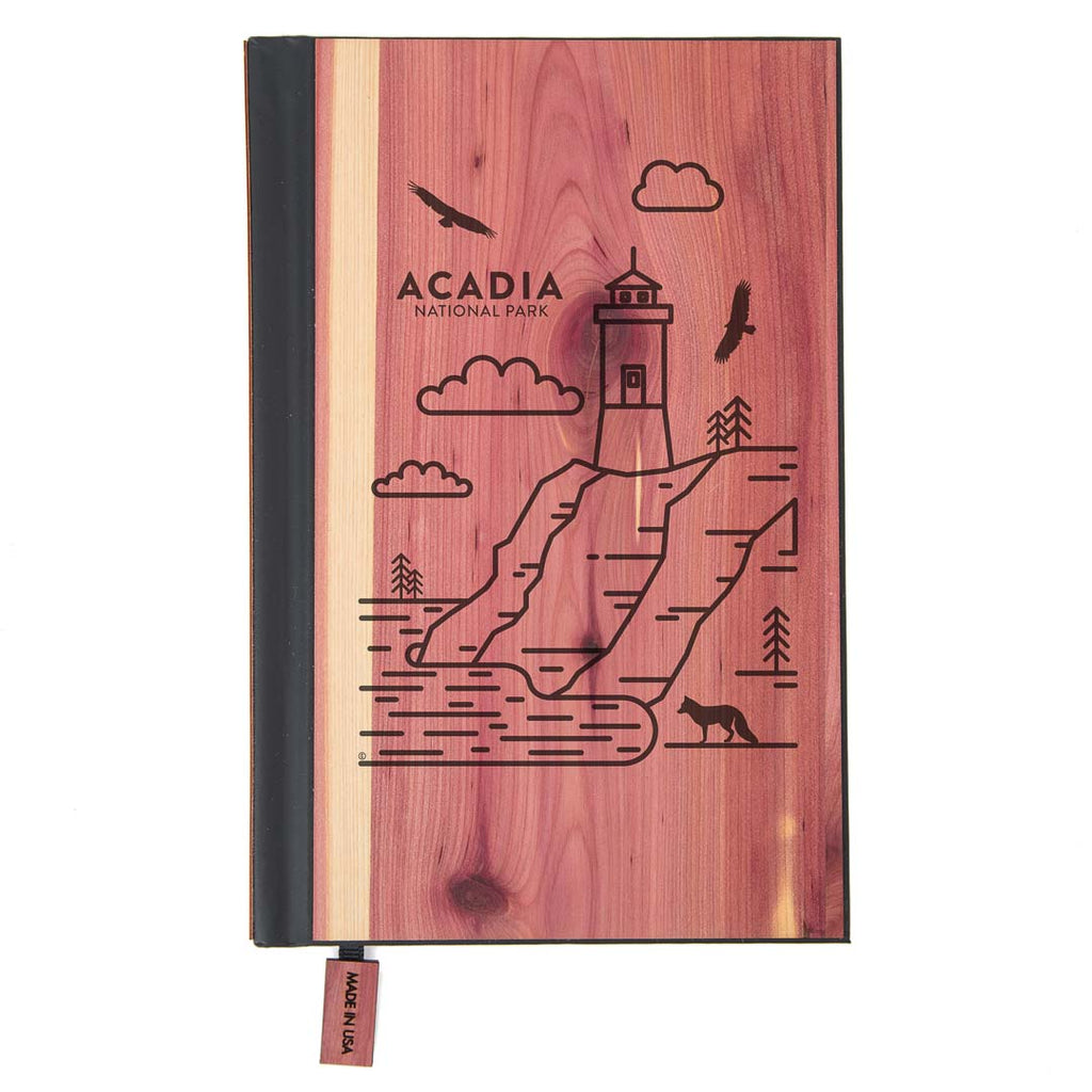 Acadia National Park Wood Classic Journal