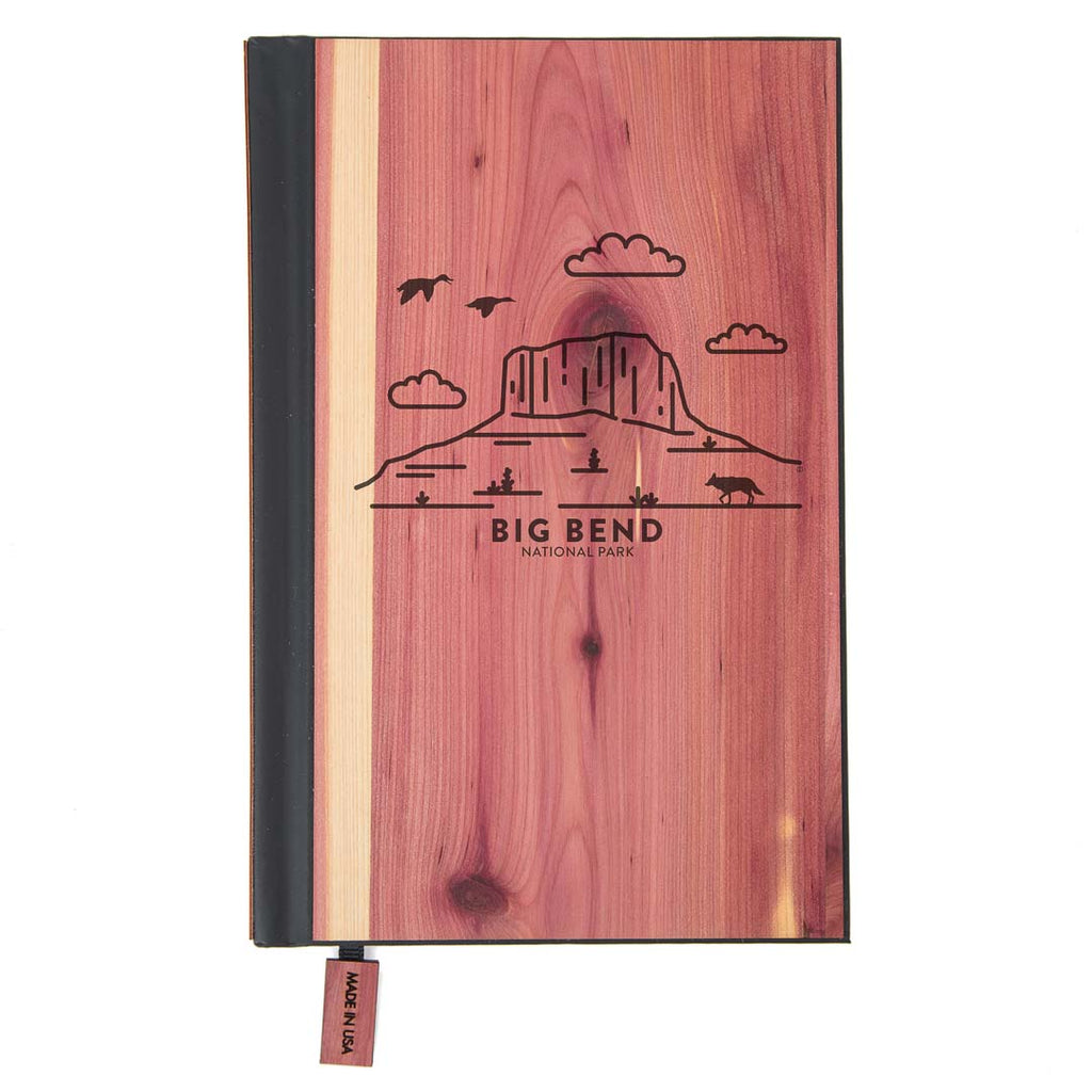 Big Bend National Park Wood Classic Journal