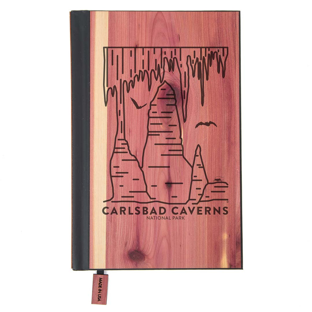 Carlsbad Caverns National Park Wood Classic Journal