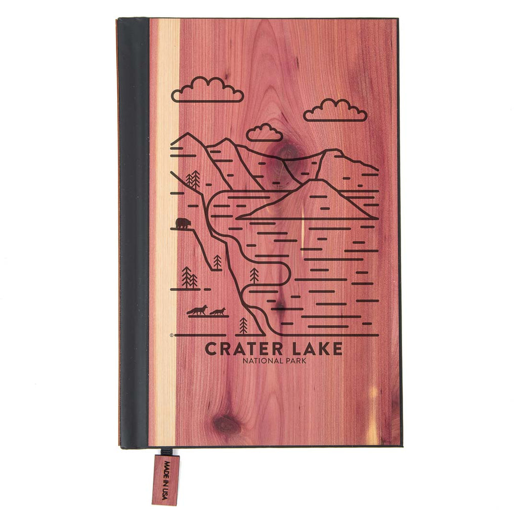 Crater Lake National Park Wood Classic Journal