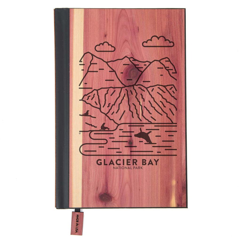 Glacier Bay National Park Wood Classic Journal