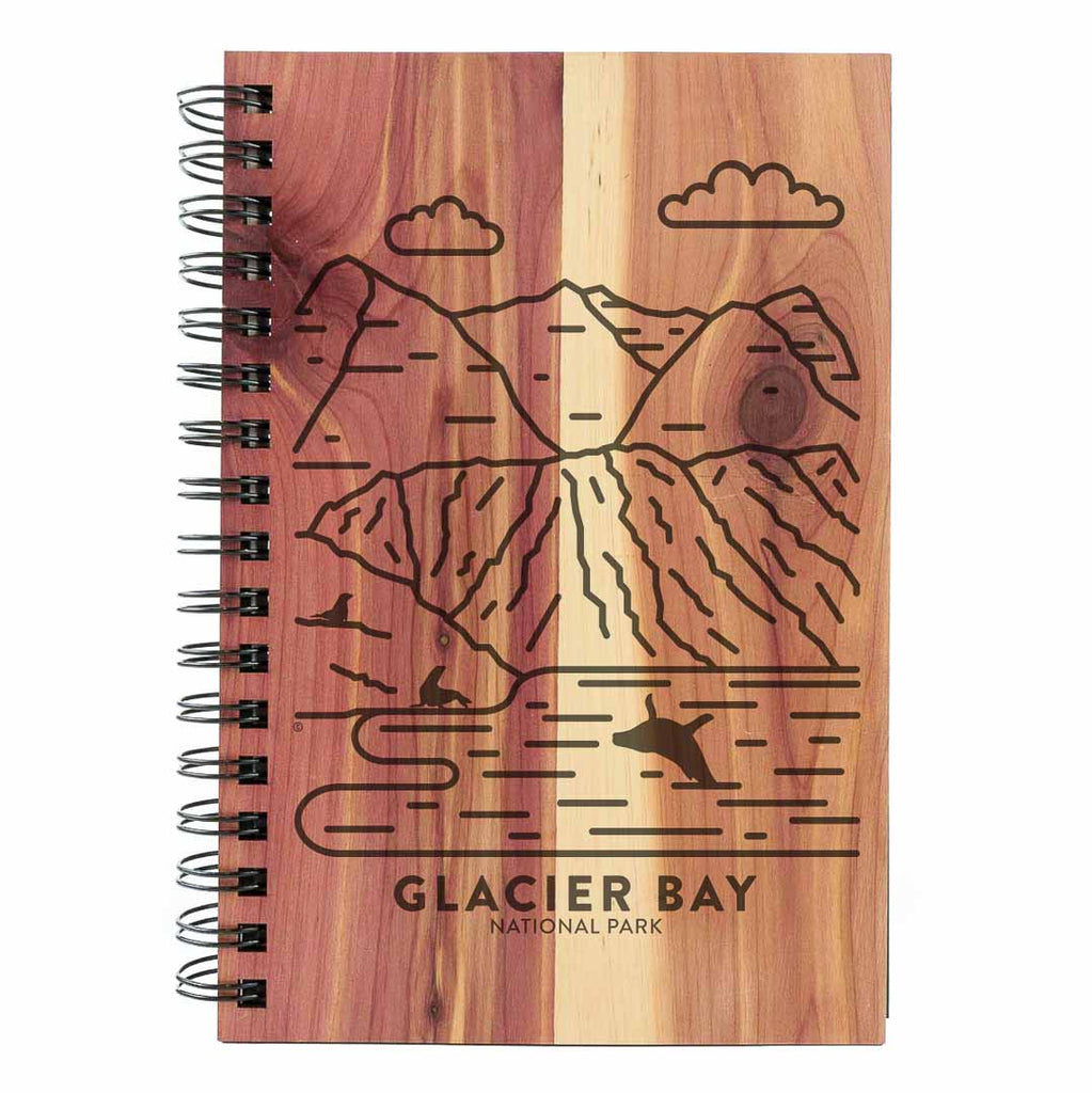 Glacier Bay National Park Wood Spiral Journal
