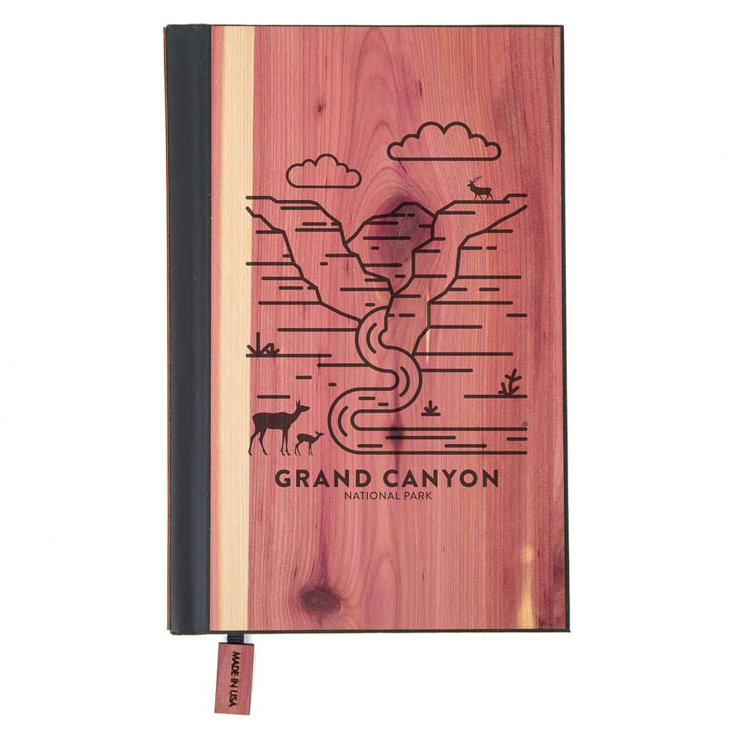 Grand Canyon National Park Wood Classic Journal