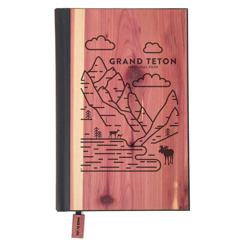 Grand Teton National Park Wood Classic Journal