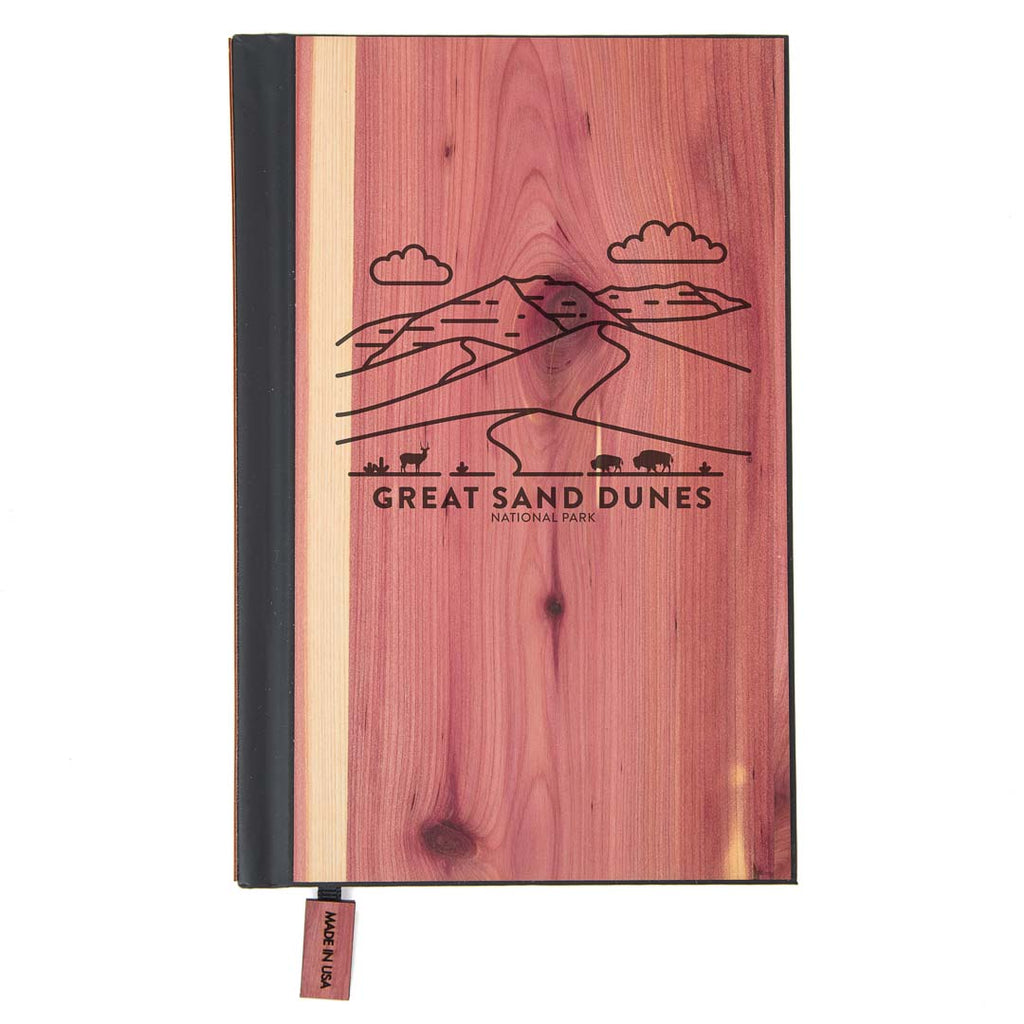 Great Sand Dunes National Park Wood Classic Journal