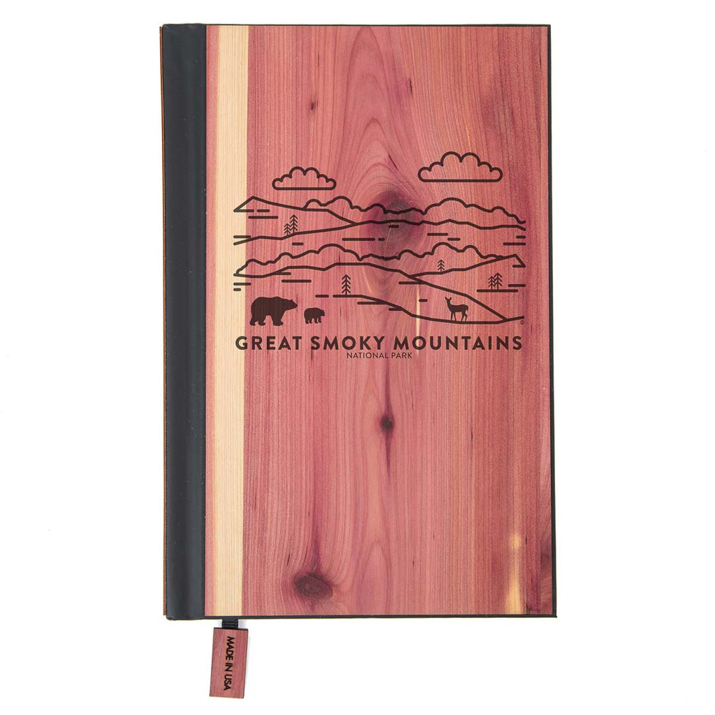 Great Smoky Mountains National Park Wood Classic Journal