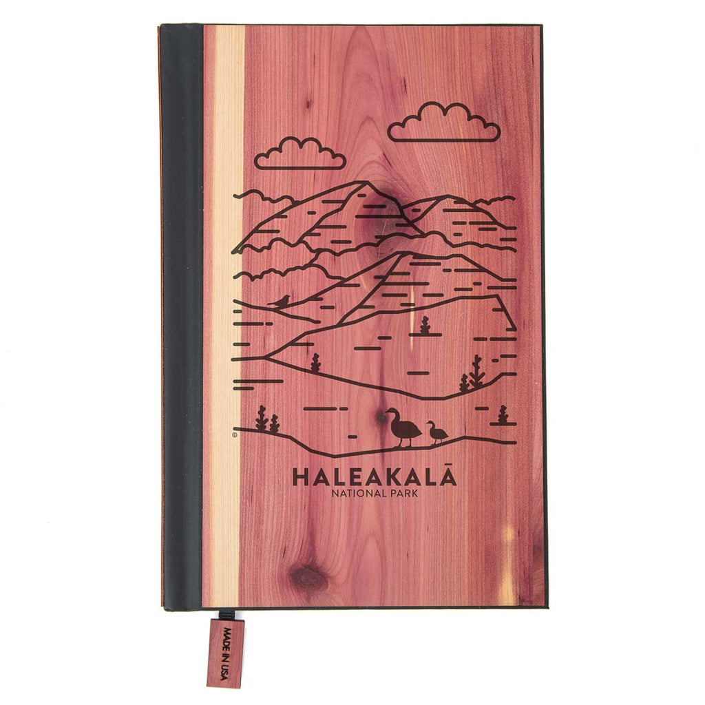Haleakala National Park Wood Classic Journal