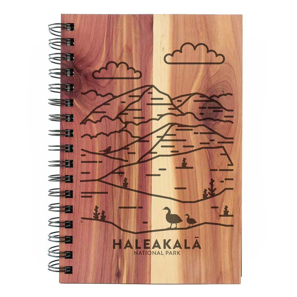 Haleakala National Park Wood Spiral Journal