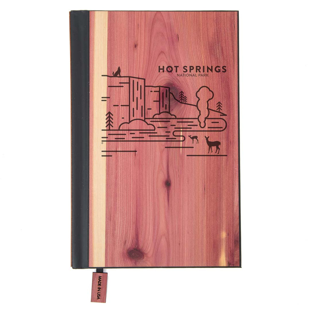 Hot Springs National Park Wood Classic Journal