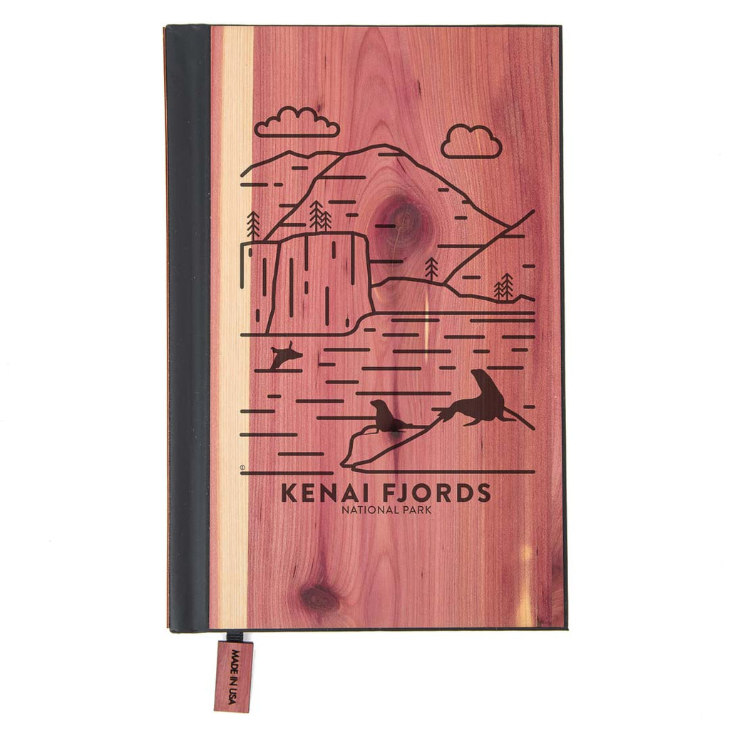 Kenai Fjords National Park Wood Classic Journal