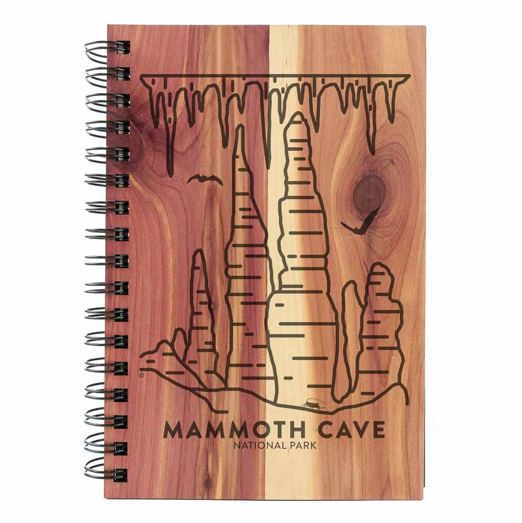 Mammoth Cave National Park Wood Spiral Journal