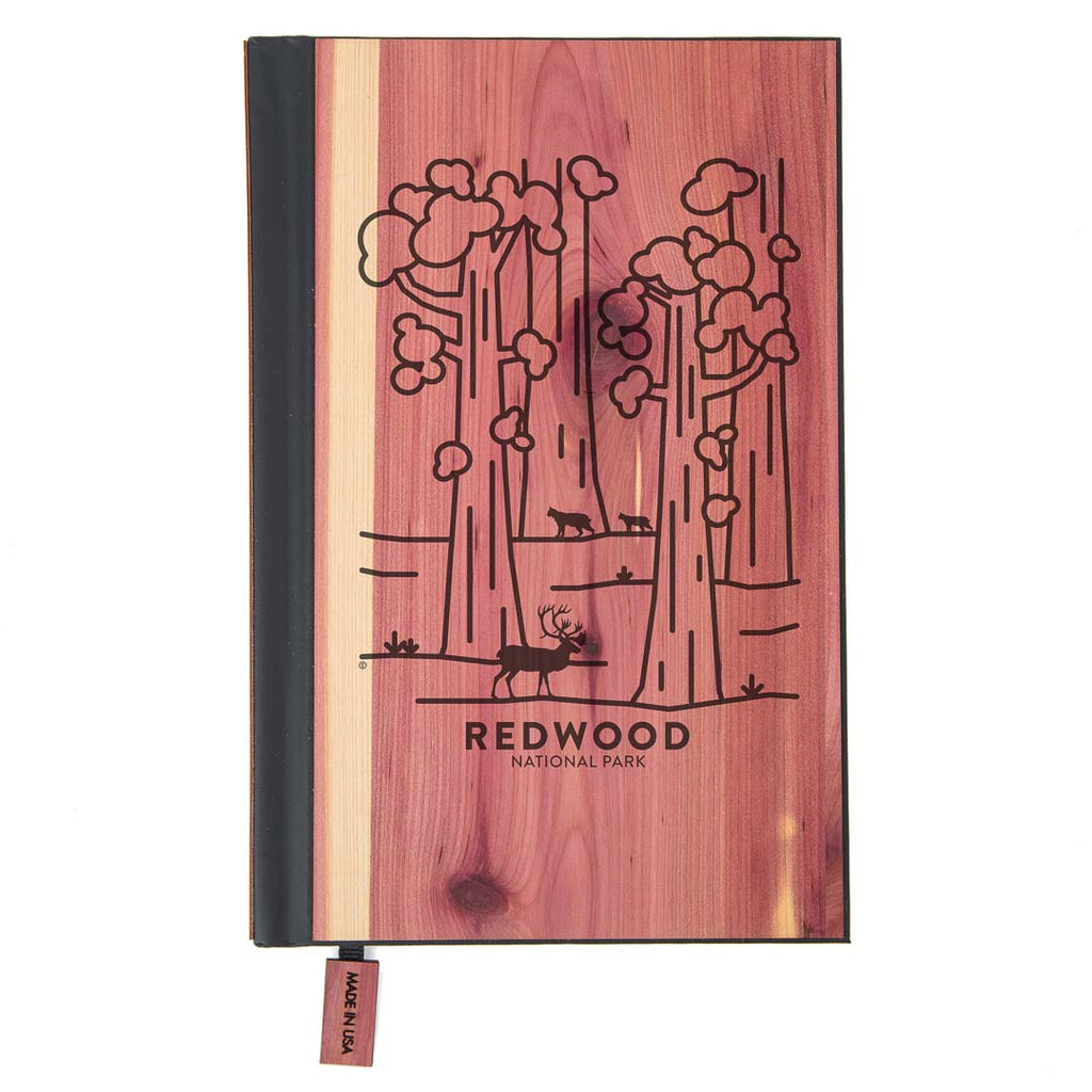 Redwood National Park Wood Classic Journal