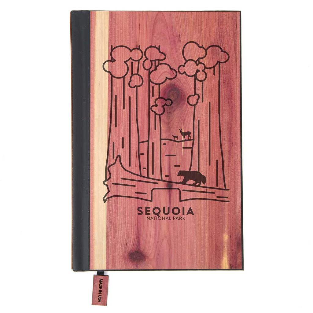 Sequoia National Park Wood Classic Journal