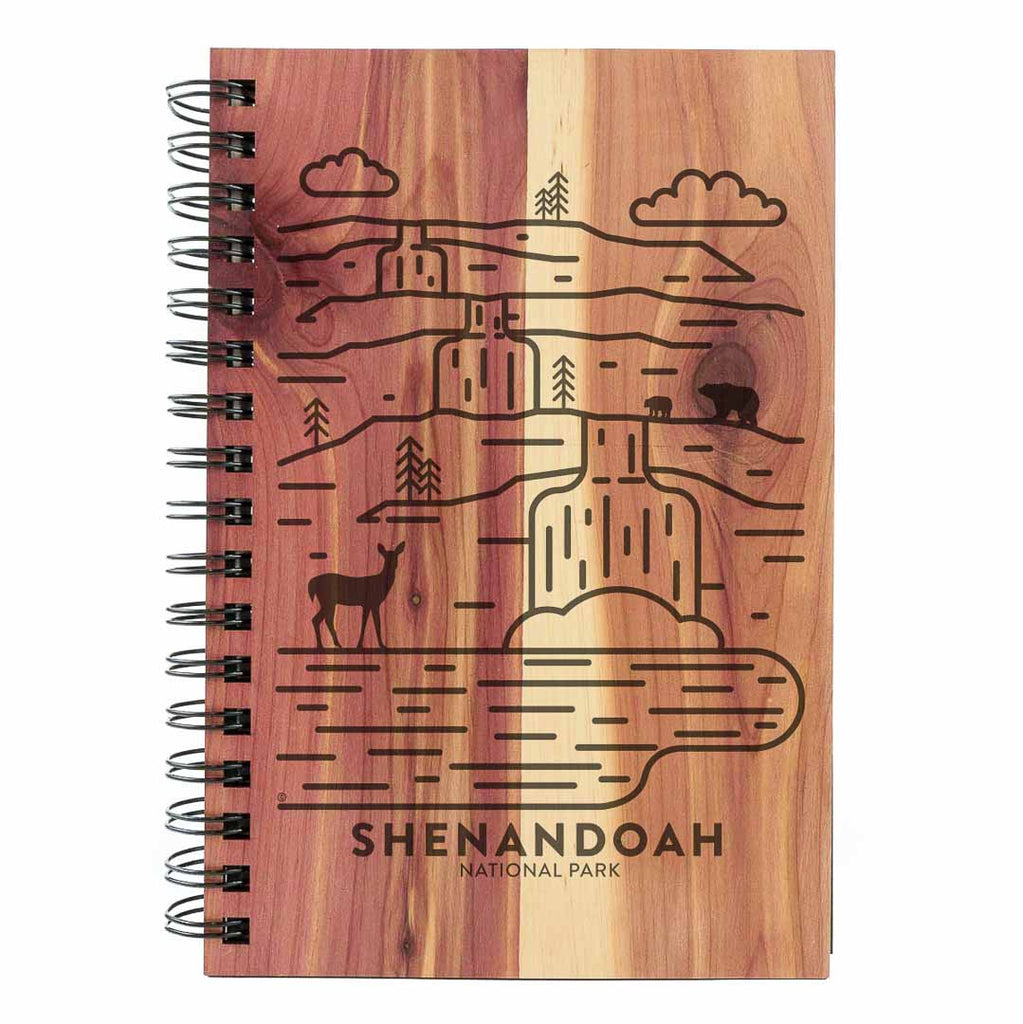 Shenandoah National Park Wood Spiral Journal