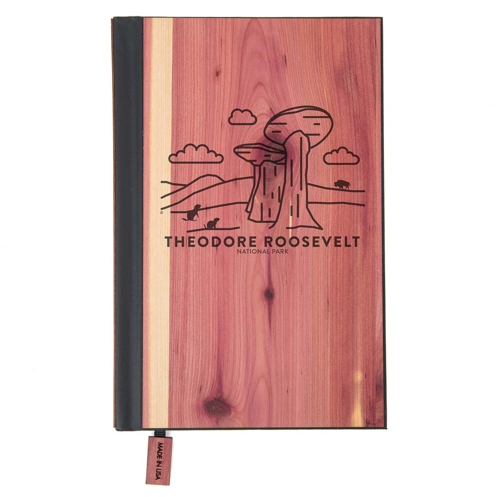 Theodore Roosevelt National Park Wood Classic Journal